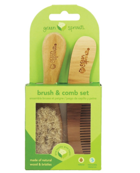 Brush And Comb Baby Set